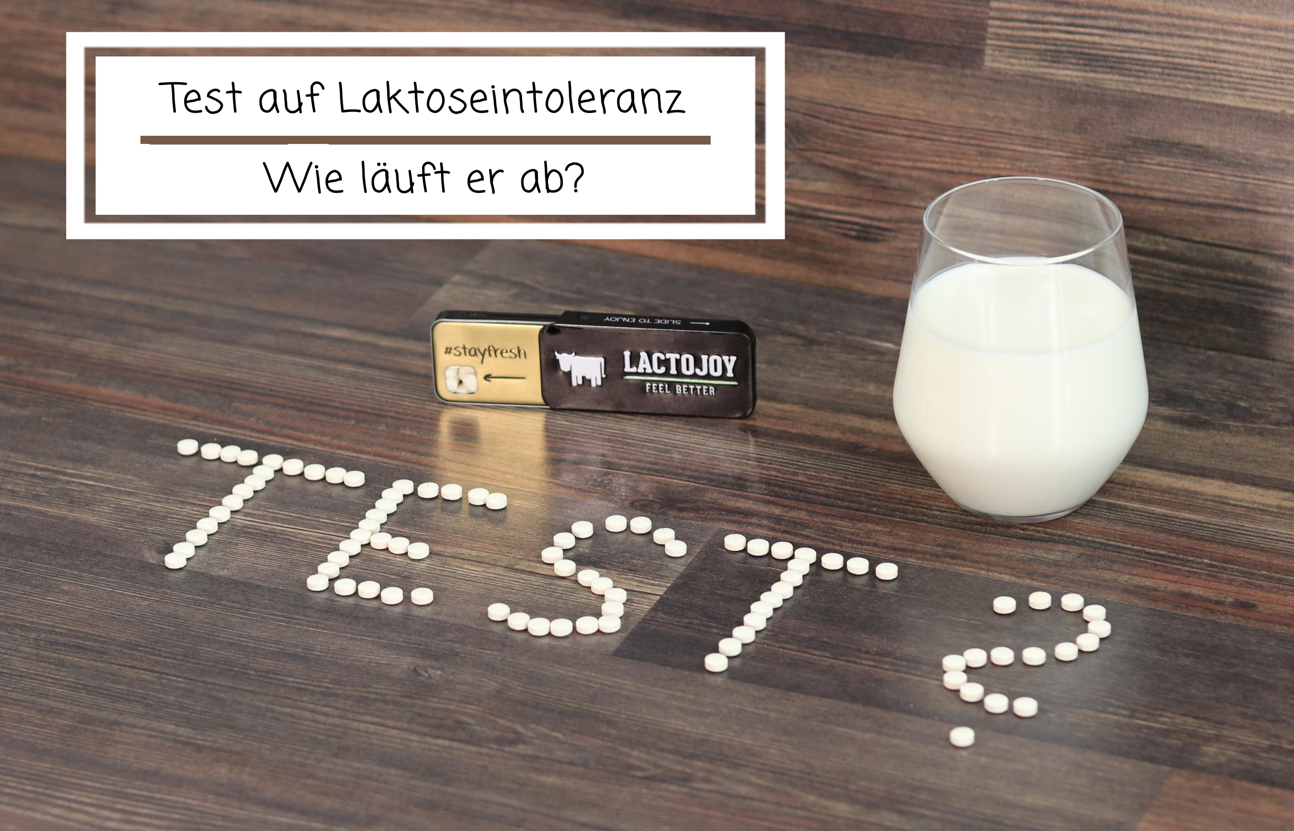 Test auf Laktoseintoleranz