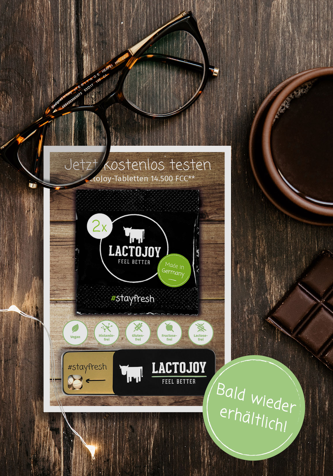 LactoJoy Test-tabletten