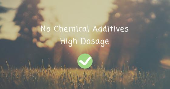 keine chemischen Zusätze
