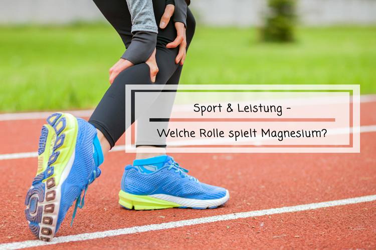 Sport und Leistung – Welche Rolle spielt Magnesium?