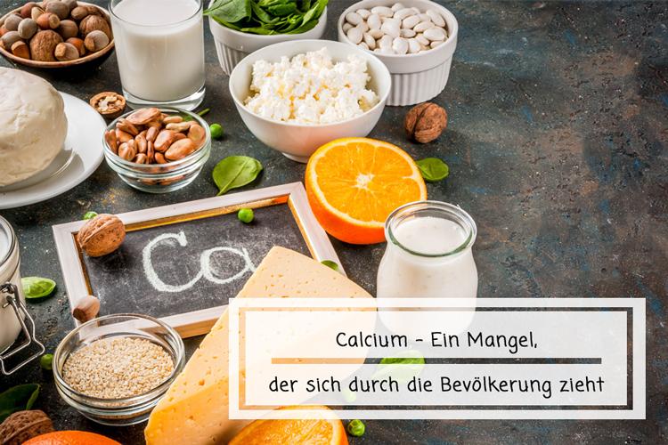 Calcium – Ein Mangel der sich durch die Bevölkerung zieht